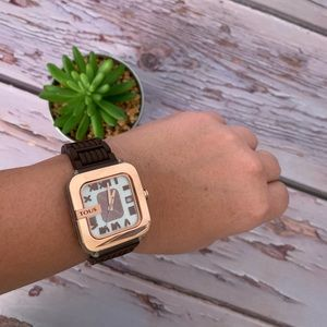 Tous watch - Authentic, rose gold.